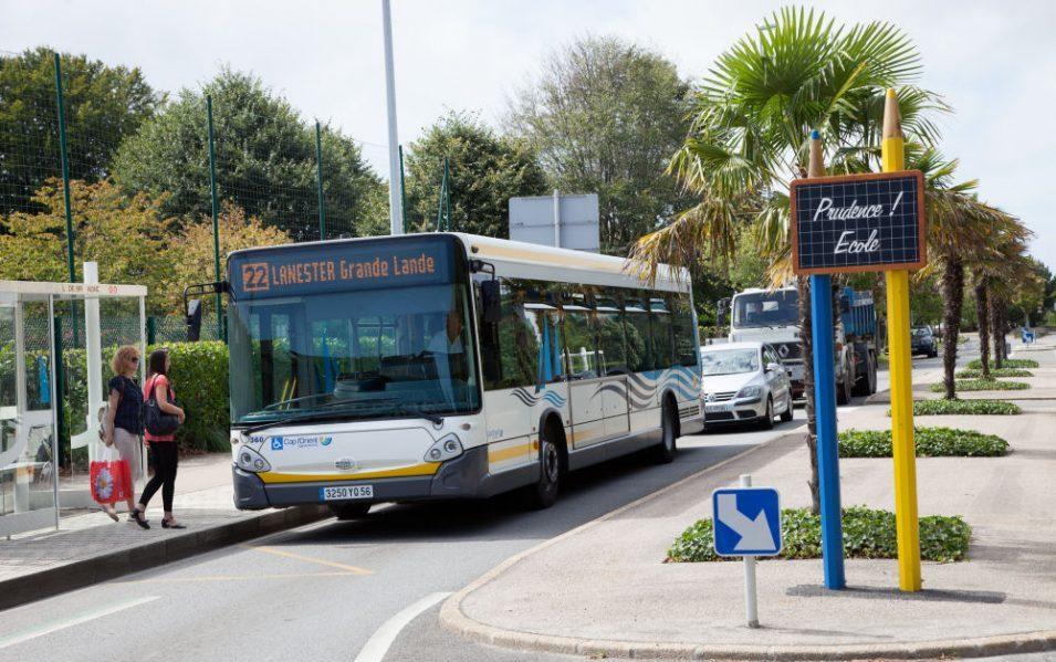 bus de la ville de Plomeur