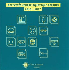 Activités centre aquatique Océanis 2016 2017